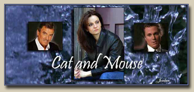 CAT AND MOUSE image created by Jordan McKenzie